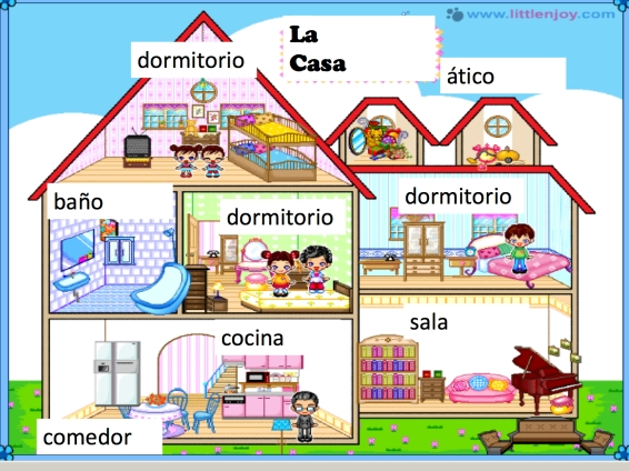 Spanish esl project ideas using dollgames welcome - La casa de mi ...