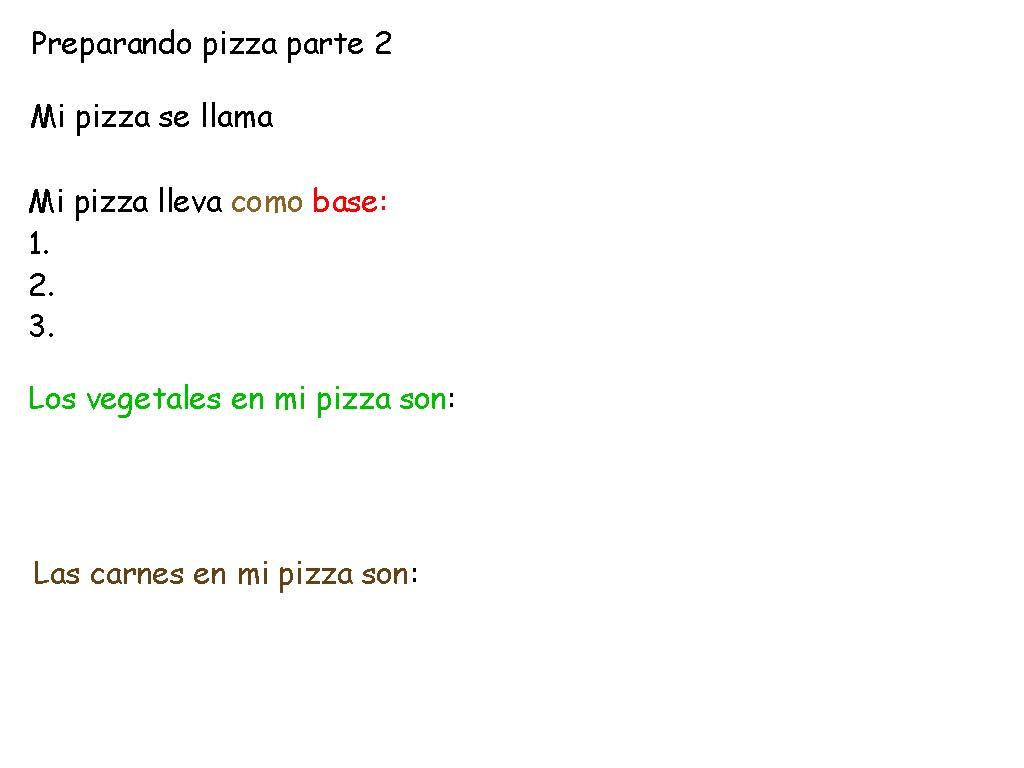 Spanish Menu Ideas Spanish Menu Project Ideas