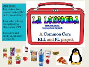 ELL and Foreign Language Tech Project Idea
