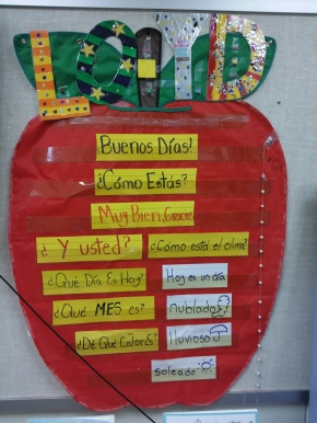 Teaching Spanish by batch words