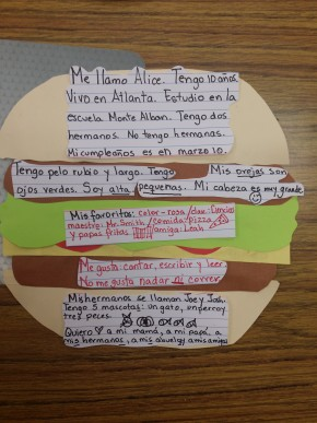 Another way to use the Burger Essay Template for L2
