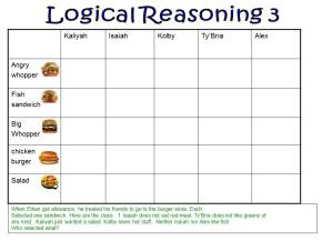 Logical Reasoning using Exemplars (Bilingual)