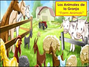 Animales de la granja -Farm animals in Spanish- more add-ons for Day of the Dead/]