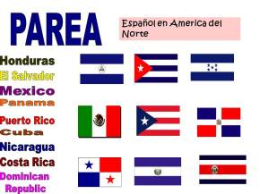 More Spanish resources for mini lessons- Spanish in North and SouthAmerica